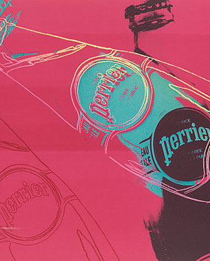 Perrier Celebrates Anniversary With Limited Edition Andy Warhol Bottles