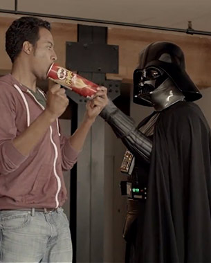 "Pringles and Star Wars Get Together for ""The Force for Fun"" Campaign"