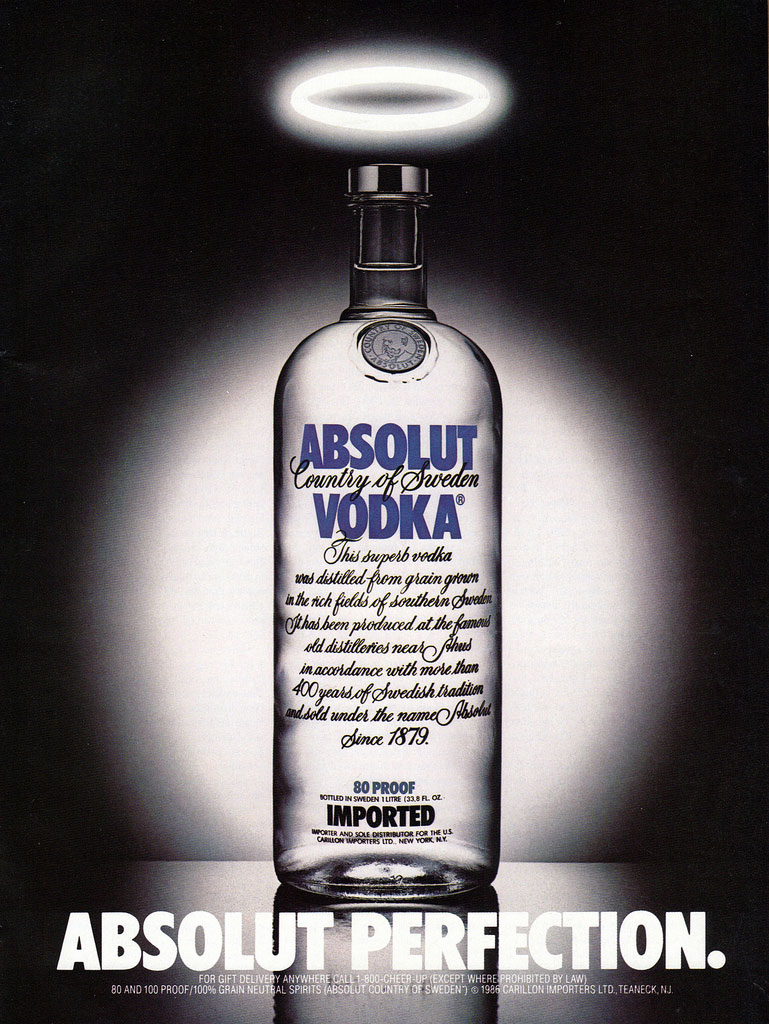 advertising campaign analysis of absolut vodka 2011-7-15  in collaboration with a new generation of artists, absolut vodka – the uk's number one premium one vodka, is introducing absolut blank a global creative movement in which absolut appears as a catalyst for cutting-edge creativity.