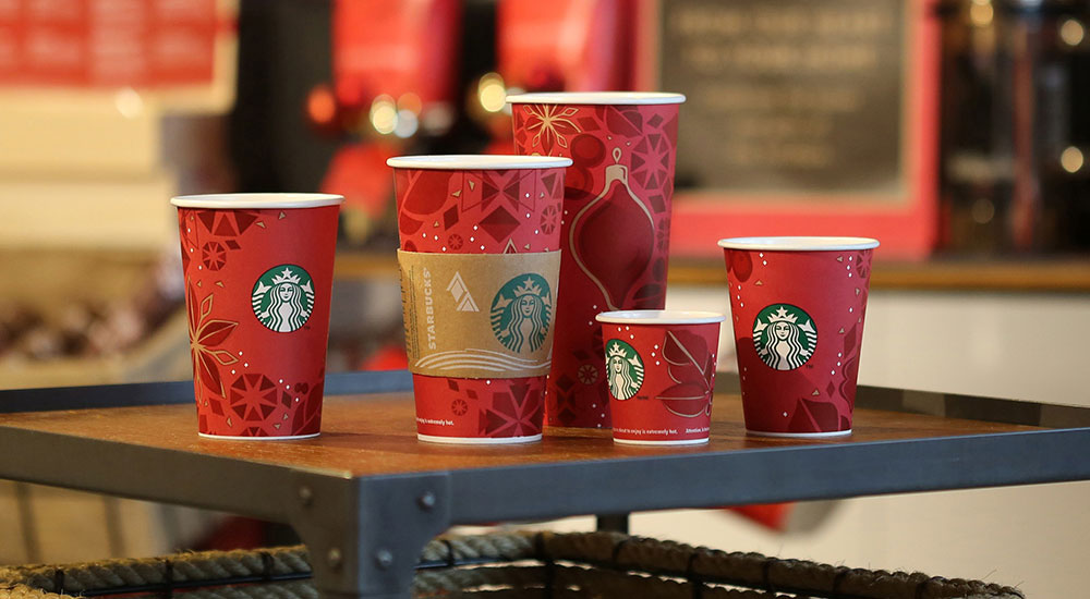 Starbucks Christmas Cups.The Emotional Side Of Starbucks Christmas Packaging