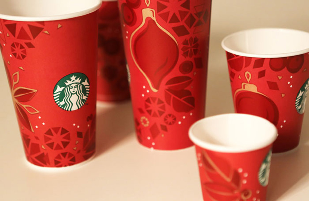 do you know christmas is coming when you see your favorite coffee poured into a red paper cup if so and i bet youll agree starbucks is doing something - Starbuck Christmas Cups