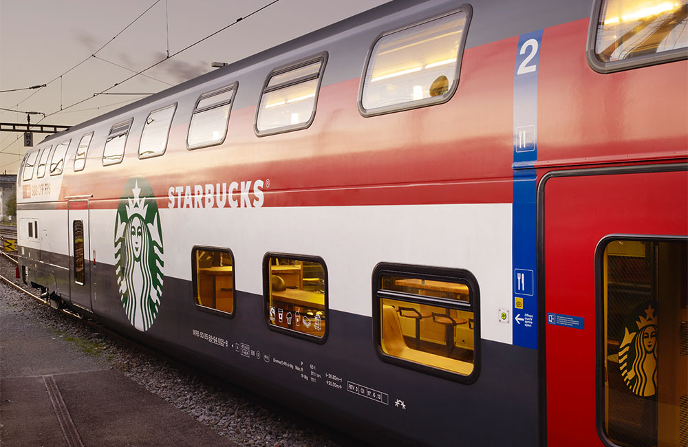 Starbucks Store on Rails Redefines Coffee to Go