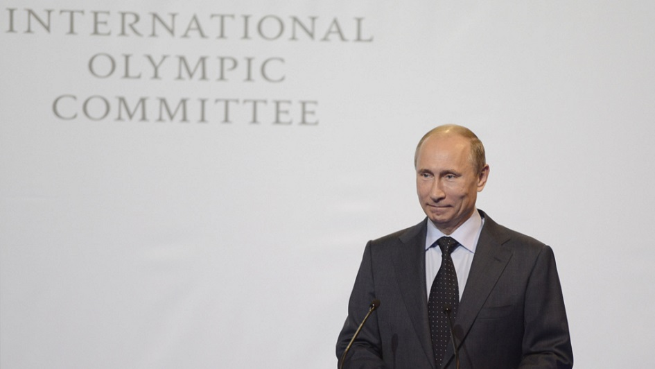 The Olympic Brand vs. Putin's Agenda