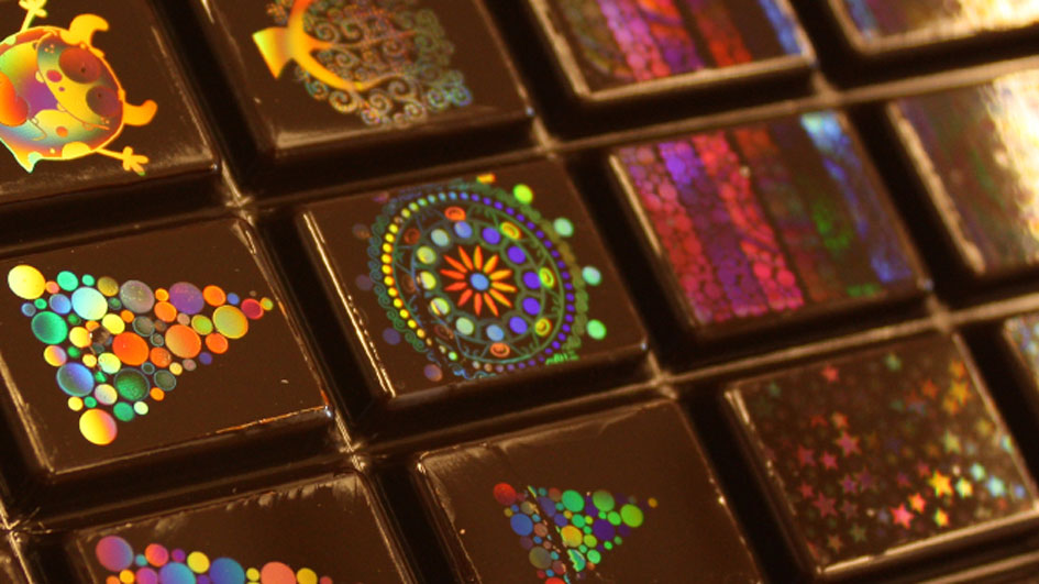 Swiss Chocolate Reaffirms Its Status With Edible Holograms