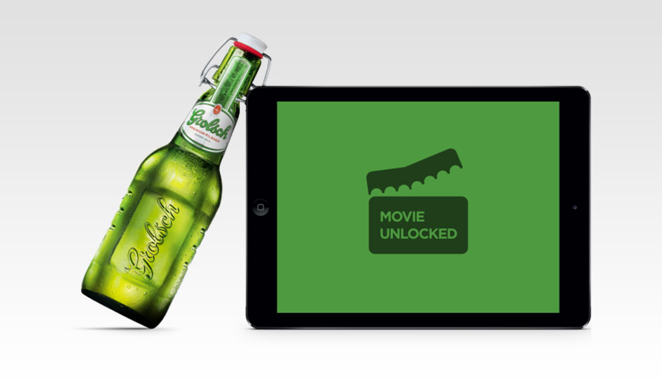 All Hail the Almighty Digital Grolsch Beer Bottle