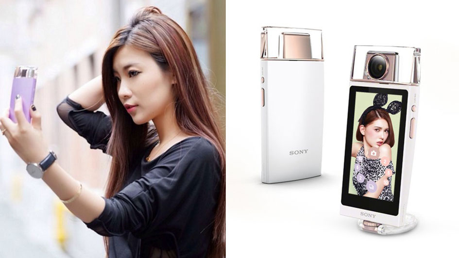 Sony Unveils the Perfect Tool for Fashionable Selfie Lovers