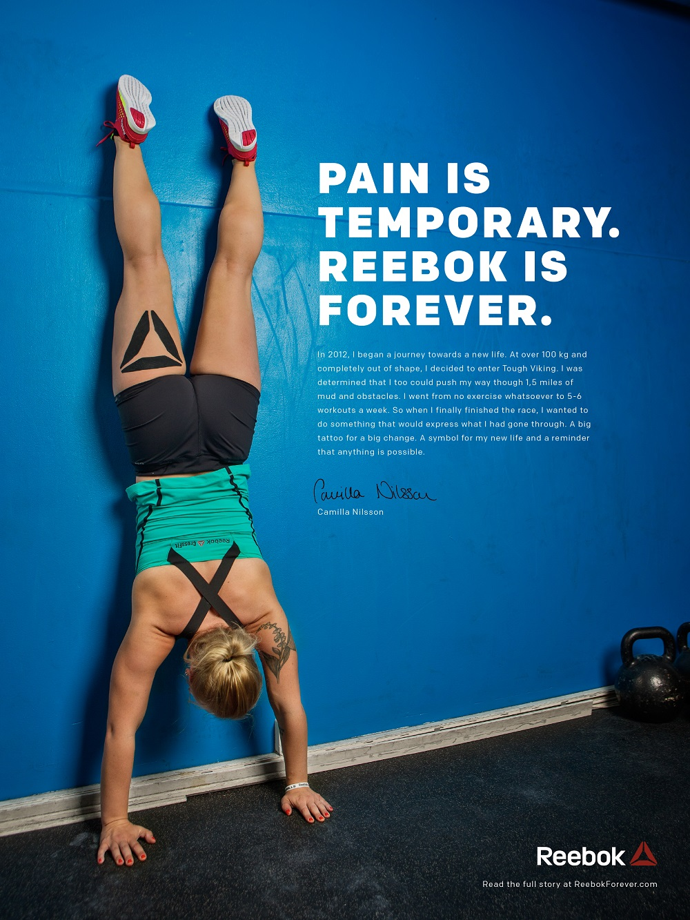 advertising and reebok Scribd is the world's largest social reading and publishing site.