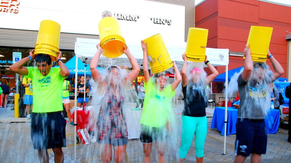The REAL Ice Bucket Challenge