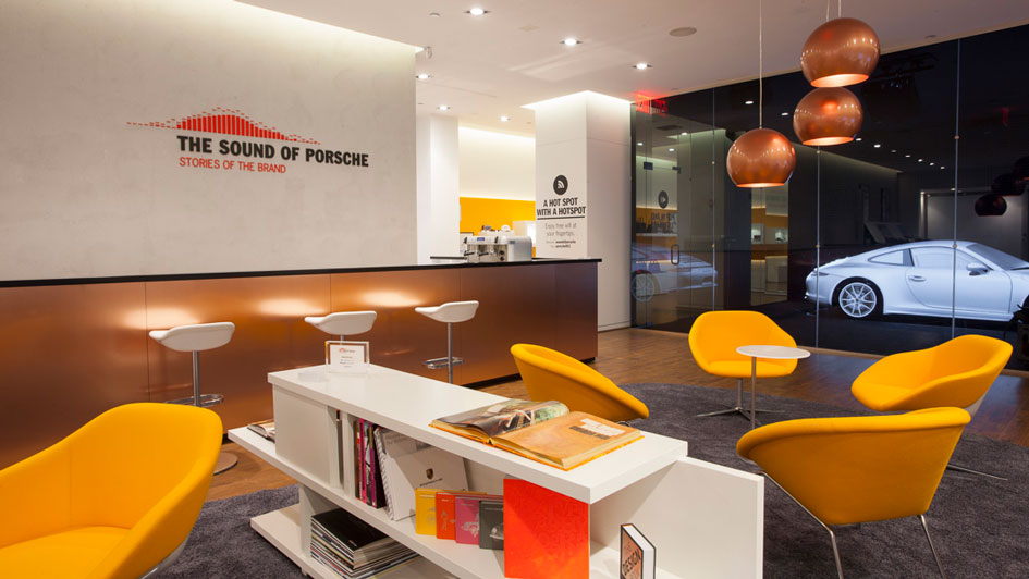Porsche Enhances Brand Experience with a Multisensory Pop-Up Store in NY