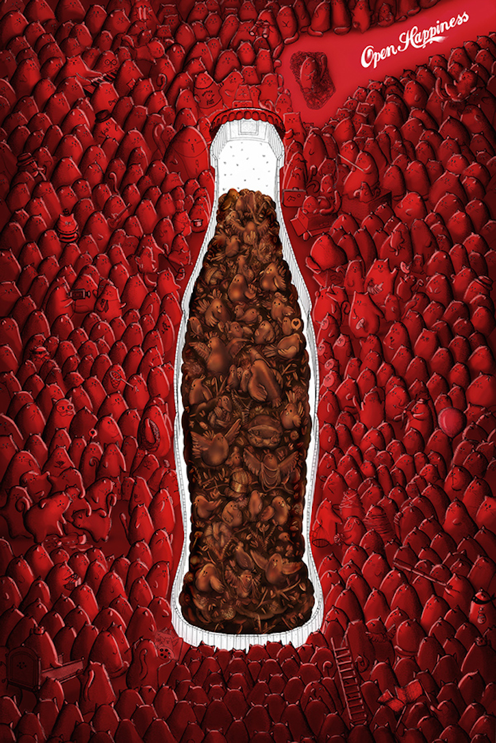 coca cola branding strategies Coca-cola announced that for the first time in the brand's history all coke's key  variants will be united in one global creative campaign.