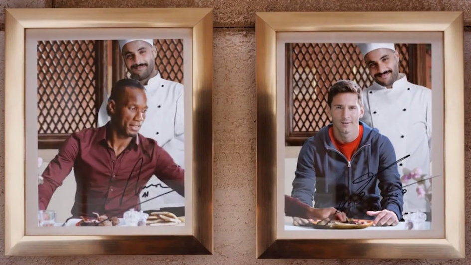 Drogba and Messi Compete to Find the Best Food on the Planet