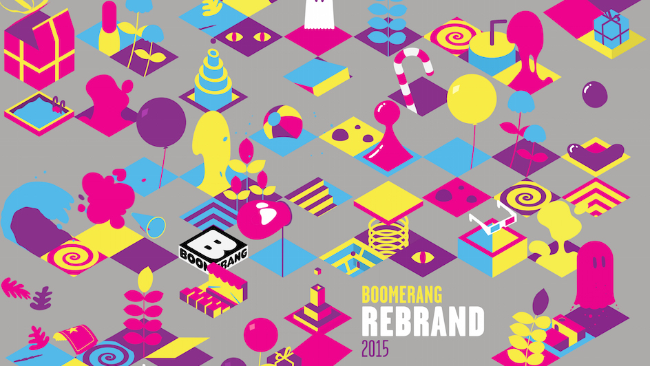 Cartoon Network's Boomerang Gets a New Colorful Design