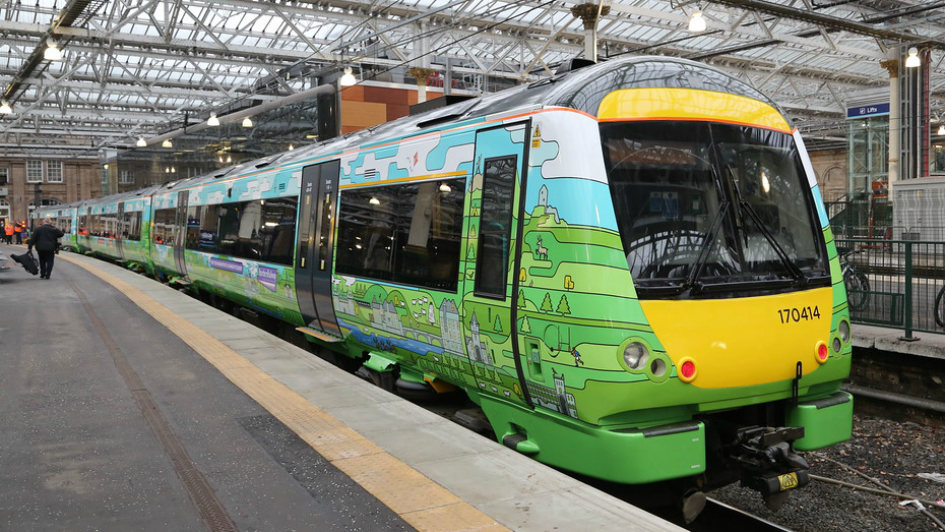 Scotland on Tracks: A New Approach to Train Wrapping