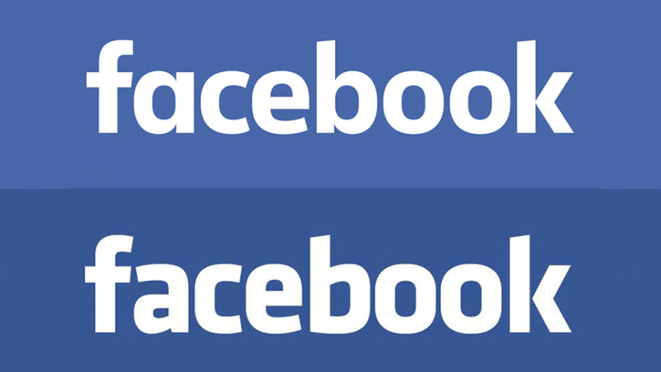 Can You Spot the Difference Between the Old & New Facebook Logo?