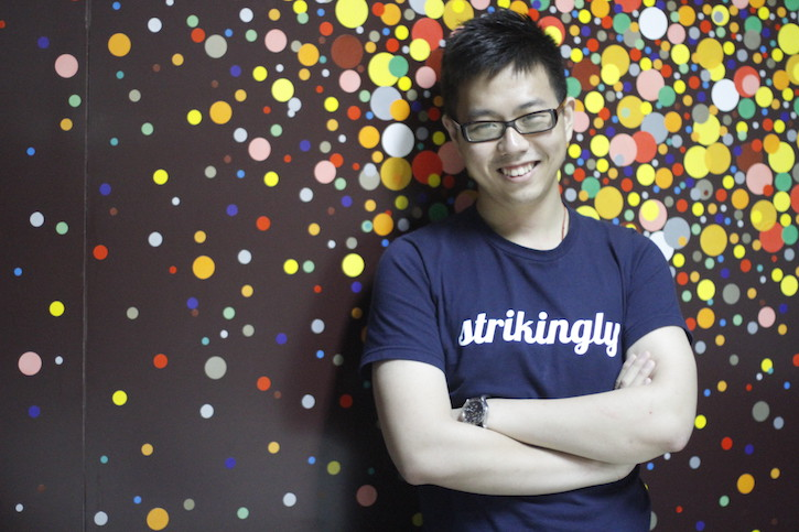 David Chen, CEO of Strikingly