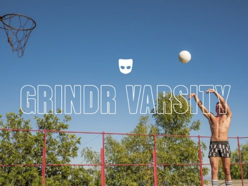 """Good Campaign of the Week: Grindr & Athlete Ally """"Varsity Collection"""""""
