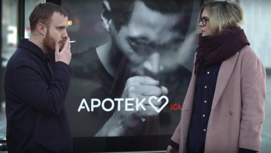 "Good Campaign of the Week: Apotek Hjärtat ""The Coughing Billboard"""