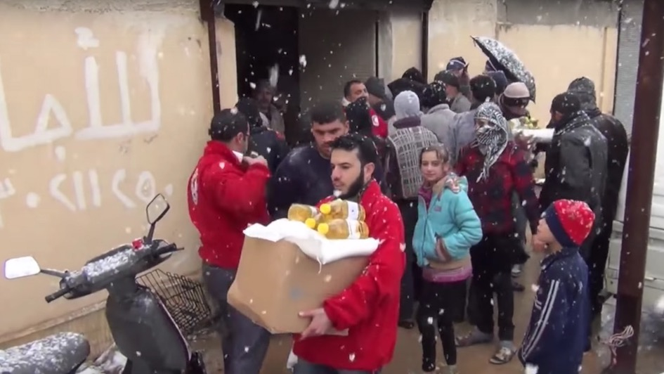 """Good Campaign of the Week: Red Cross Flanders """"Merry Christmas from Syria"""""""