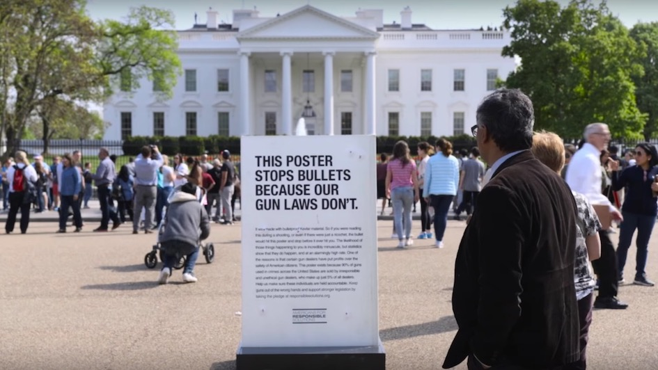 Good Campaign of the Week: The Bulletproof Poster
