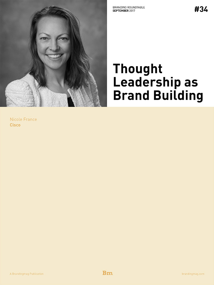Thought Leadership as Brand Building - Branding Roundtable 34