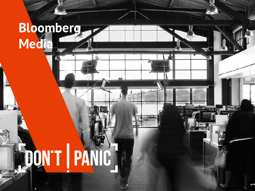 Don't Panic! Interview: Bloomberg Media's Chief Growth Officer, M. Scott Havens